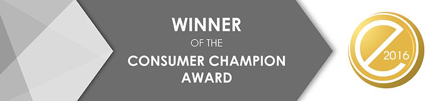 Consumer Champion Award 2016