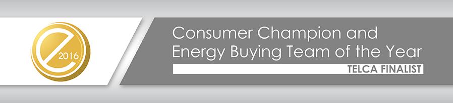 Customer Energy Buying Team - 2016